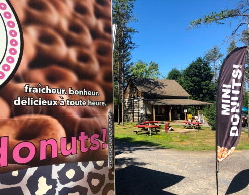 Le Donut Stop and The Log Farm